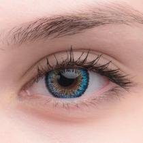 Цветные линзы EOS Cats Eyes Blue