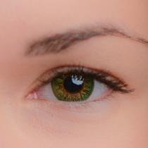 Цветные линзы EOS Luna Green